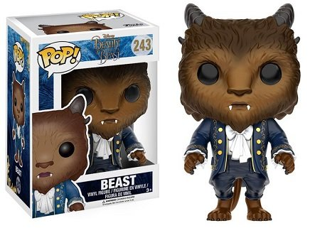 Bonecos Funko Pop Brasil - Beauty & the Beast - Beast