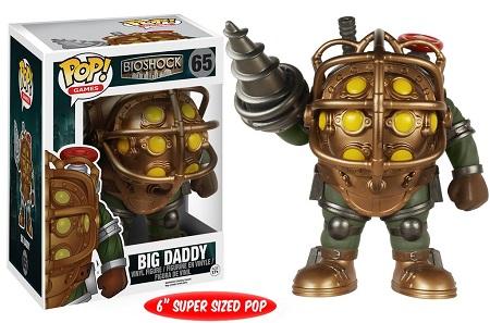 Bonecos Funko Pop Brasil - Bioshock - Big Daddy