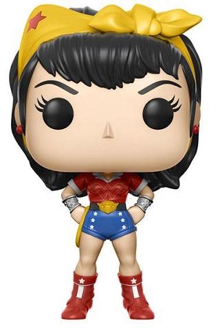 Bonecos Funko Pop Brasil - DC Comics - Wonder Woman - Bombshells
