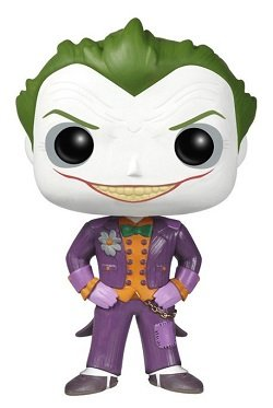 Bonecos Funko Pop Brasil - DC Comics - Batman Arkham Asylum - The Joker