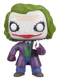 Bonecos Funko Pop Brasil - DC Comics - Dark Knight - The Joker
