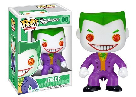 Bonecos Funko Pop Brasil - DC Comics - The Joker