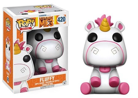 Bonecos Funko Pop Brasil - Despicable Me 3 - Fluffy
