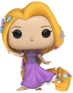 Bonecos Funko Pop Brasil - Disney - Princess - Rapunzel