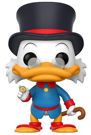 Bonecos Funko Pop Brasil - Disney - Duck Tales - Scrooge Mcduck / Tio Patinhas