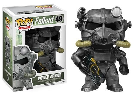 Bonecos Funko Pop Brasil - Fallout - Power Armor