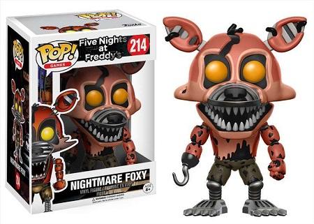 Bonecos Funko Pop Brasil - Five Nights at Freddy's - Nightmare Foxy