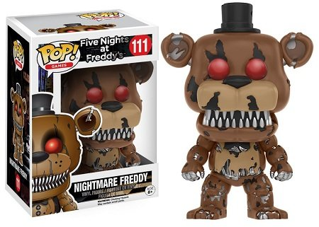 Bonecos Funko Pop Brasil - Five Nights at Freddy's - Nightmare Freddy