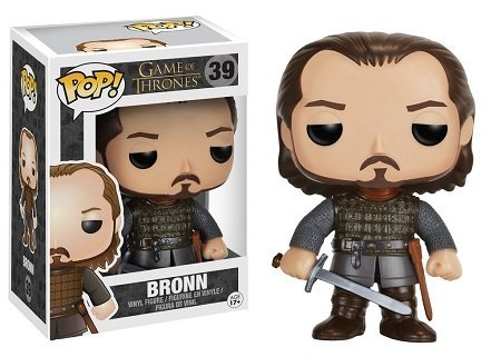 Bonecos Funko Pop Brasil - Game of Thrones - Bronn