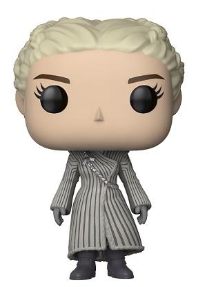 Bonecos Funko Pop Brasil - Game of Thrones - Daenerys Targaryen - White Coat