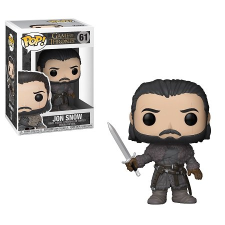 Bonecos Funko Pop Brasil - Game of Thrones - Jon Snow 61 - Beyond the Wall