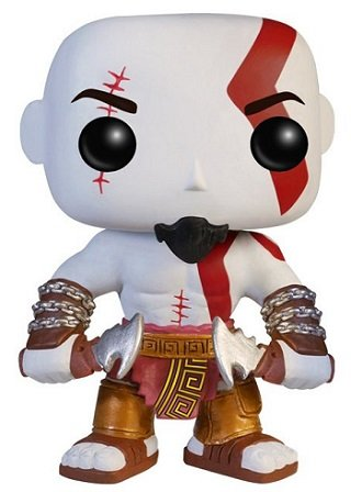 Bonecos Funko Pop Brasil - God of war - Kratos
