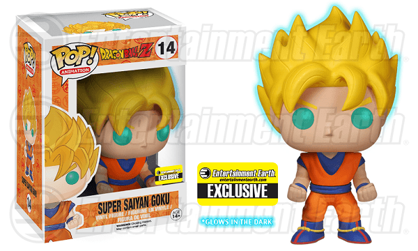 Funko Pop! Dragonball Z - Super Saiyan Goku - Glow in the dark