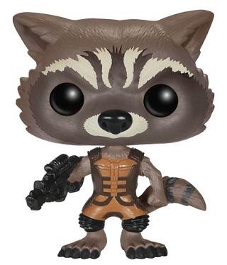 Bonecos Funko Pop Brasil - Marvel - Guardians of the Galaxy - Rocket Raccoon