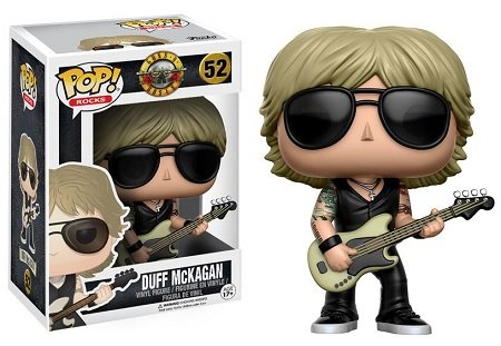 Bonecos Funko Pop Brasil - Guns n' Roses - Duff
