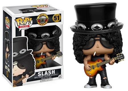 Bonecos Funko Pop Brasil - Guns n' Roses - Slash