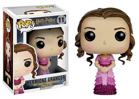 Bonecos Funko Pop Brasil - Harry Potter - Hermione Granger - Yule Ball