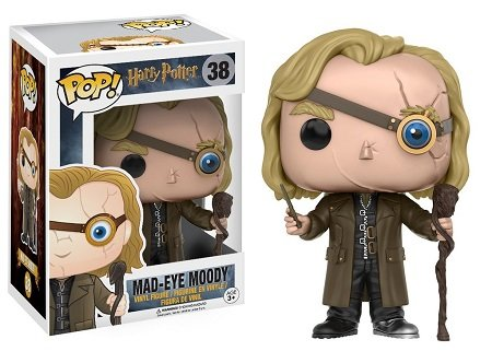 Bonecos Funko Pop Brasil - Harry Potter - Mad-Eye Moody