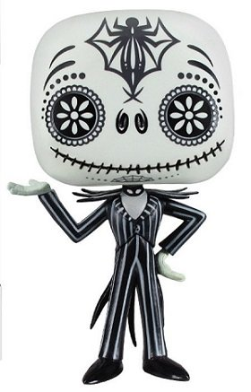Bonecos Funko Pop Brasil - Jack Skellington - Day of the Dead