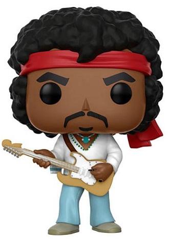 Bonecos Funko Pop Brasil - Jimi Hendrix
