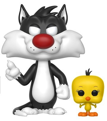 Bonecos Funko Pop Brasil - Looney Tunes - Sylvester and Tweety