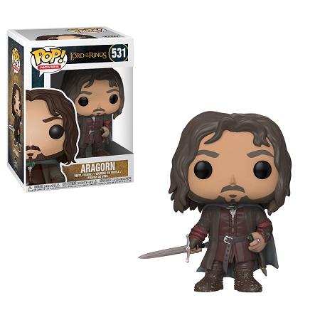 Bonecos Funko Pop Brasil - The Lord of the Rings - Aragorn