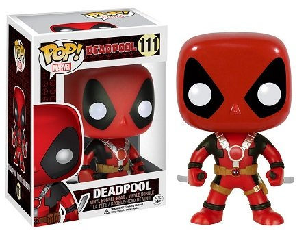 Bonecos Funko Pop Brasil - Marvel - Deadpool