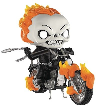 Bonecos Funko Pop Brasil - Marvel - Ghost Rider with Bike