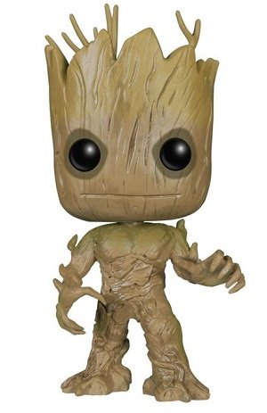 Bonecos Funko Pop Brasil - Marvel - Guardians of the Galaxy - Groot