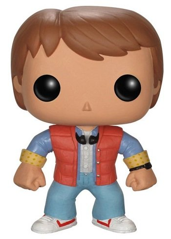 Bonecos Funko Pop Brasil - Back to The Future - Marty McFly