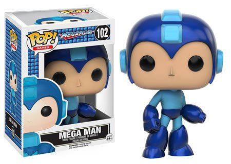 Bonecos Funko Pop Brasil - Mega Man