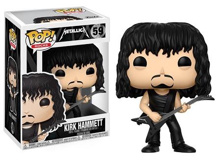 Bonecos Funko Pop Brasil - Metallica - Kirk Hammett