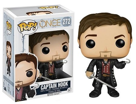 Bonecos Funko Pop Brasil - Once Upon a Time - Captain Hook