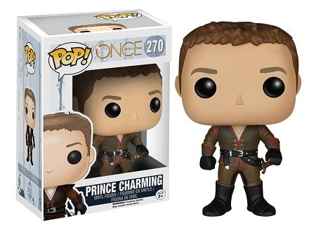 Bonecos Funko Pop Brasil - Once Upon A Time - Prince Charming
