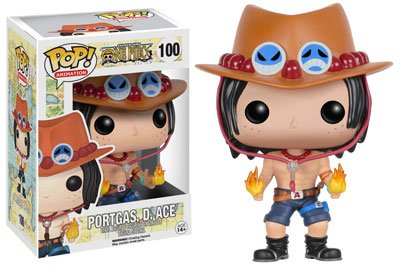 Bonecos Funko Pop Brasil - One piece - Portgas D. Ace