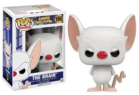 Bonecos Funko Pop Brasil - Pinky & The Brain - The Brain