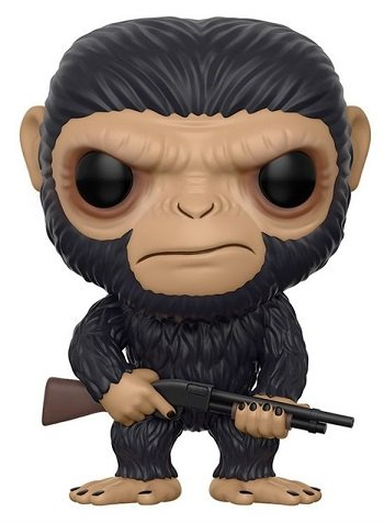 Bonecos Funko Pop Brasil - War for the Planet of the Apes - Caesar