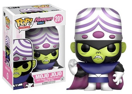 Bonecos Funko Pop Brasil - Powerpuff Girls - Mojo Jojo - Macaco Louco