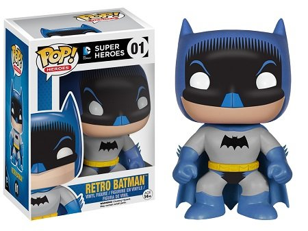 Bonecos Funko Pop Brasil - DC Comics - Batman Retro 1950 - Exclusive
