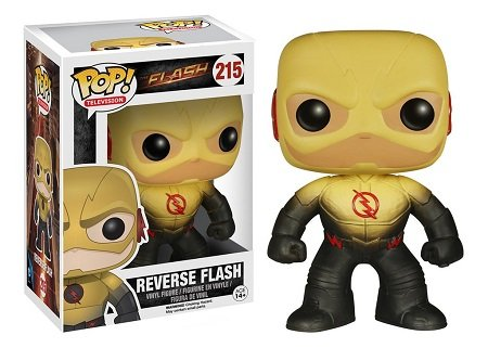 Bonecos Funko Pop Brasil - DC Comics - The Flash - Reverse Flash