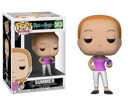 Bonecos Funko Pop Brasil - Rick and Morty - Summer