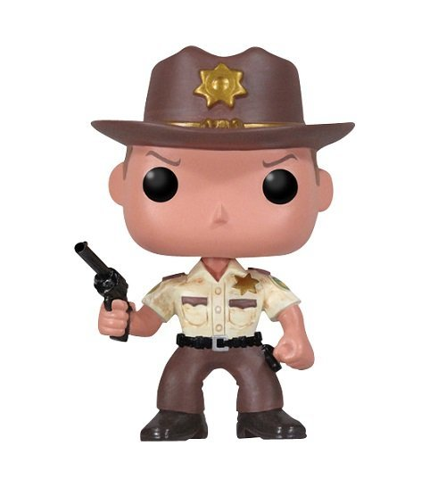 Bonecos Funko Pop Brasil - The Walking Dead - Rick Grimes