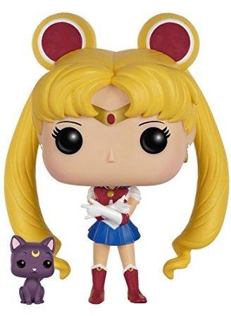 Bonecos Funko Pop Brasil - Sailor Moon & Luna