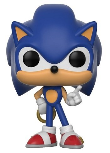 Bonecos Funko Pop Brasil - Sonic with ring