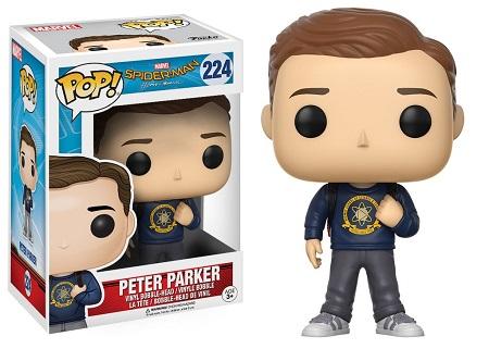 Bonecos Funko Pop Brasil - Marvel - Spider-Man Homecoming - Peter Parker