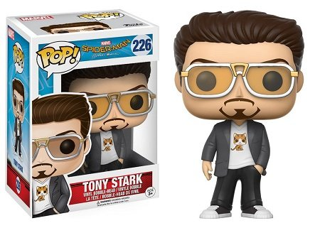 Bonecos Funko Pop Brasil - Marvel - Spider-Man Homecoming - Tony Stark