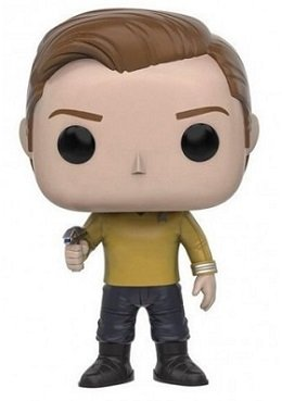 Bonecos Funko Pop Brasil - Star Trek Beyond - Captain Kirk
