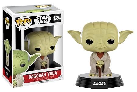Bonecos Funko Pop Brasil - Star Wars - Dagobah Yoda