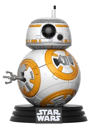 Bonecos Funko Pop Brasil - Star Wars - The Last Jedi - BB-8