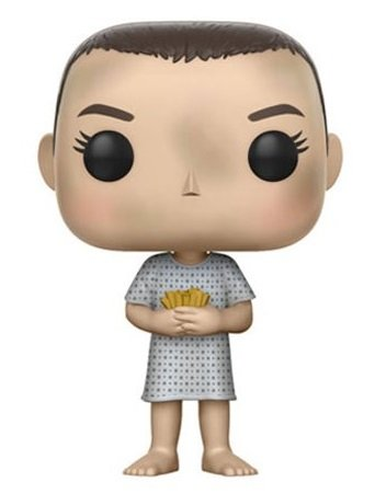 Bonecos Funko Pop Brasil - Stranger Things - Eleven Hospital Gown